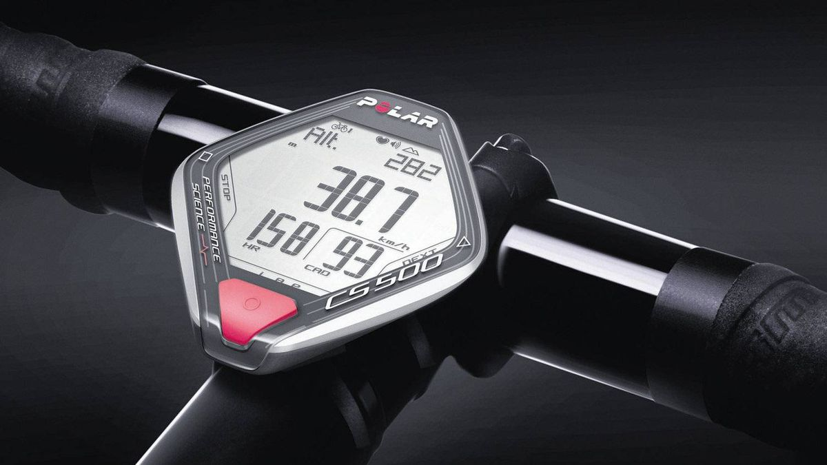 Track It's easier to meet target heart rates while riding high in the Andes Mountains than when riding at sea level. The Polar CS500 makes adjustments to training requirements according to changes in your environment. Built for hard-core cyclists who like to track their stats, it logs the times, distances and changes in altitude of each ride, sets personalized optimal heart-rate zones based on age and counts calories burned. $379.99, polar.fi