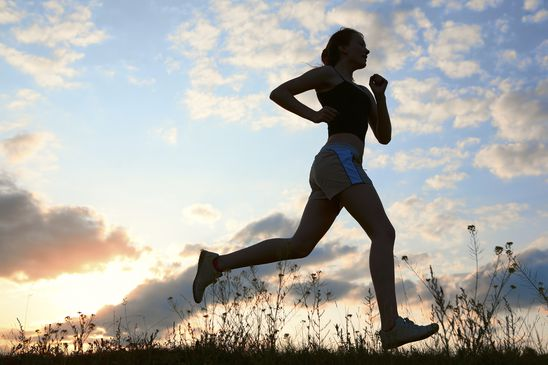 Can a regular running routine replace antidepressants?