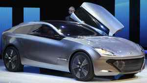 The Hyundai i-onic concept.