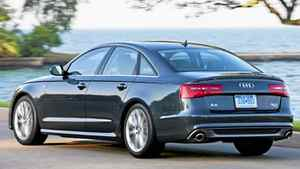 The A6 was redesigned for 2012.