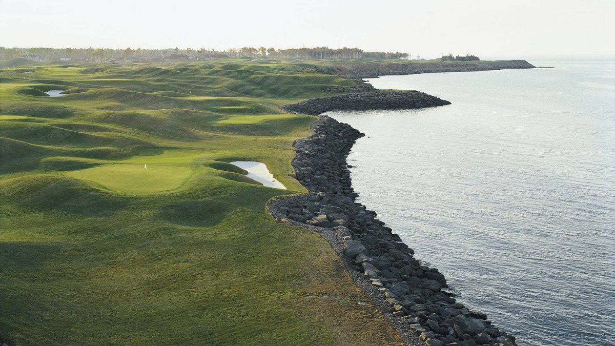 Nine-Hole Course, Fox Harb'r Resort, Wallace, N.S.: Though just 1,039 yards, the nine-hole par-three course is a tough little brute set on a wind-buffeted peninsula. Steady your nerves for the 127-yard fourth hole, an oceanside jewel requiring as much as a six-iron off the tee. Green fee: $30. foxharbr.com/golf