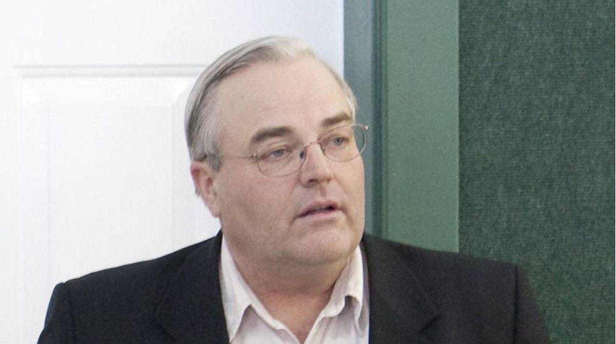 Winston Blackmore before a press conference in the community of Bountiful near Creston, B.C. January 8, 2009.