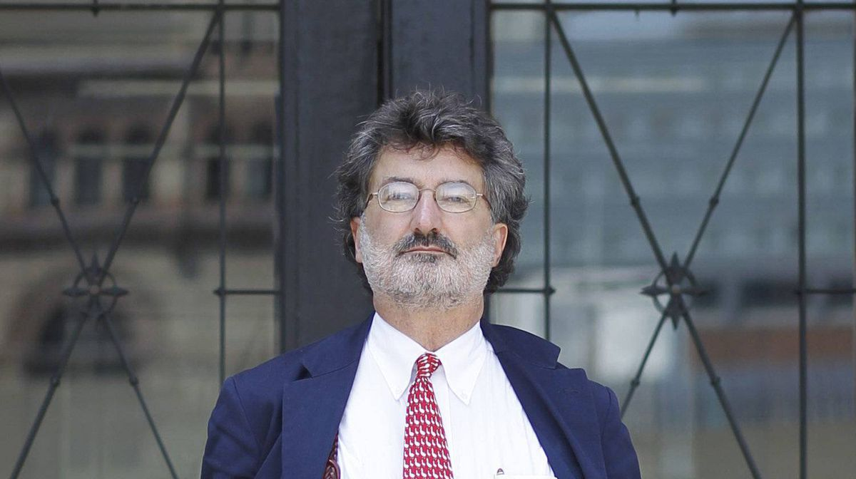Joe Groia, shown last August at the start of his Law Society of Upper Canada disciplinary hearing, is accused of 'incivility' in the Bre-X Minerals trial.