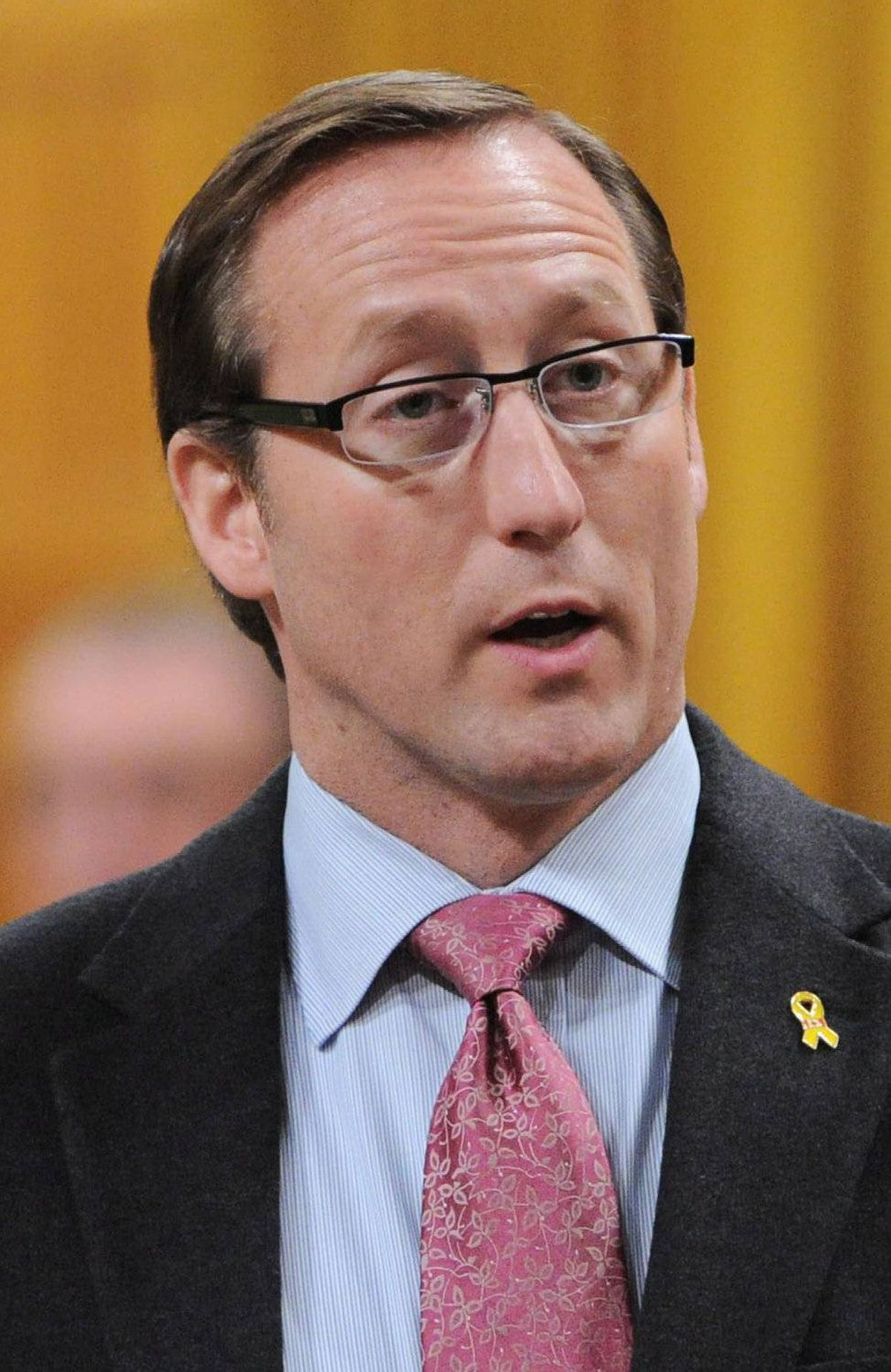 Minister of National Defence Peter MacKay responds to a question during question period in the House of Commons on Parliament Hill in Ottawa on Friday, March 9, 2012.
