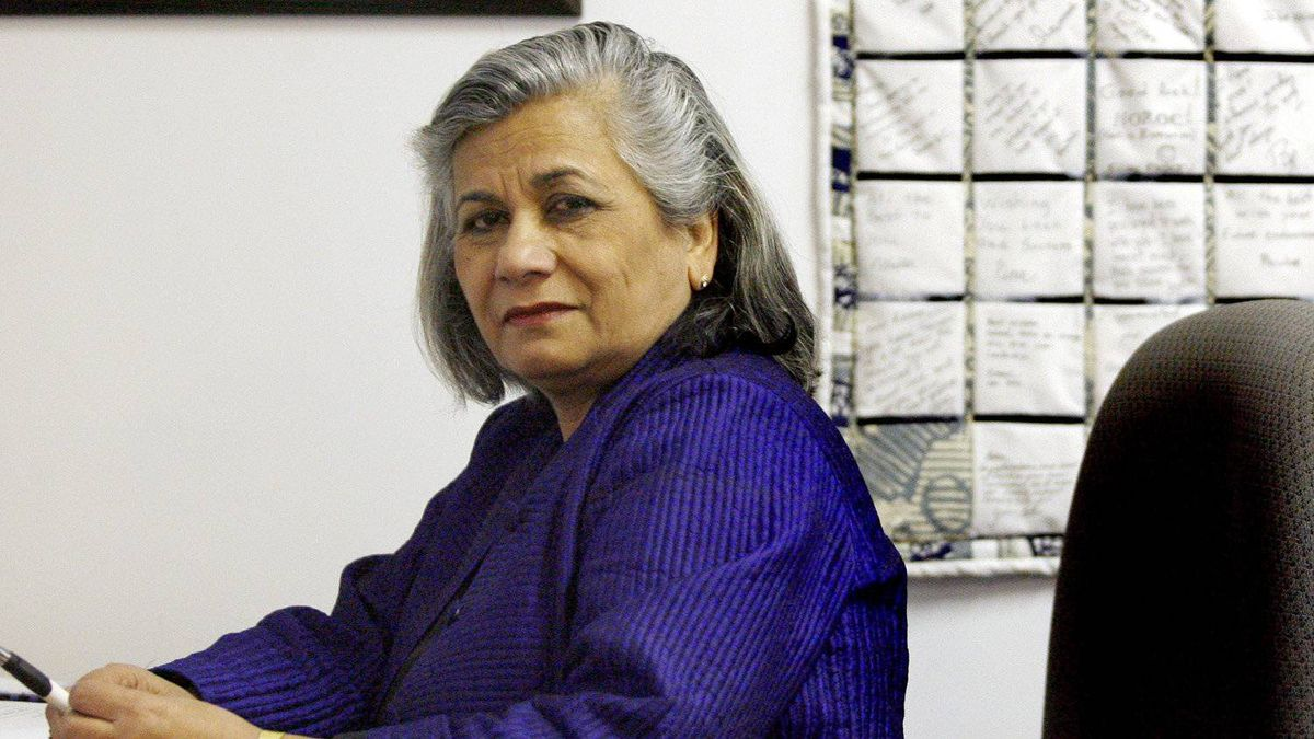 Ratna Omidvar, head of the Maytree Foundation.