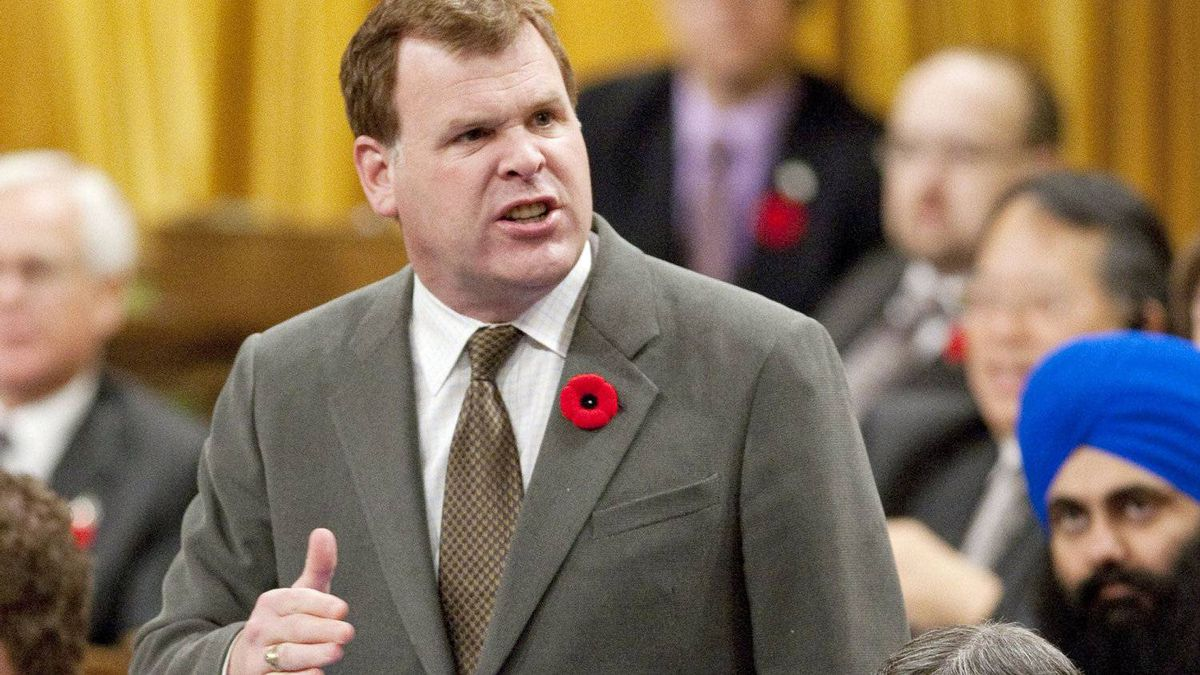 Foreign Affairs Minister John Baird speaks during Question Period in House of Commons on Nov. 4, 2011.