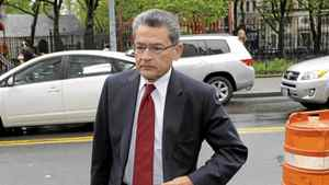 Former Goldman Sachs director Rajat Gupta arrives at the Manhattan Federal Court in New York May 22, 2012. Mr. Gupta is the most prominent corporate executive charged in the U.S. government's recent crackdown on insider trading. He has denied the charges, and his lawyer says that prosecutors have no direct evidence to win a conviction. Mr. Gupta, 63, is accused of leaking stock secrets to Galleon Group founder Raj Rajaratnam, his erstwhile friend and business associate, who himself was convicted of insider trading last year.