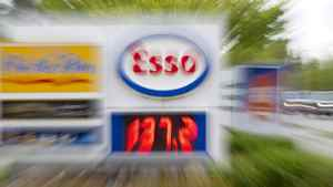 A slow camera shutter speed blurs a sign showing gas prices at a gas station in North Vancouver, B.C. Tuesday, May 10, 2011. Prices shot up as much as six cents a litre or more in parts of Ontario on Tuesday in the wake of Monday's boost in crude oil prices.THE CANADIAN PRESS/Jonathan Hayward