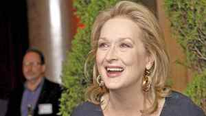 Actress Meryl Streep arrives at the 84th Academy Awards nominees luncheon in Beverly Hills, Calif., Feb. 6, 2012.