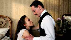 """Keira Knightley and Michael Fassbender in a scene from """"A Dangerous Method"""""""