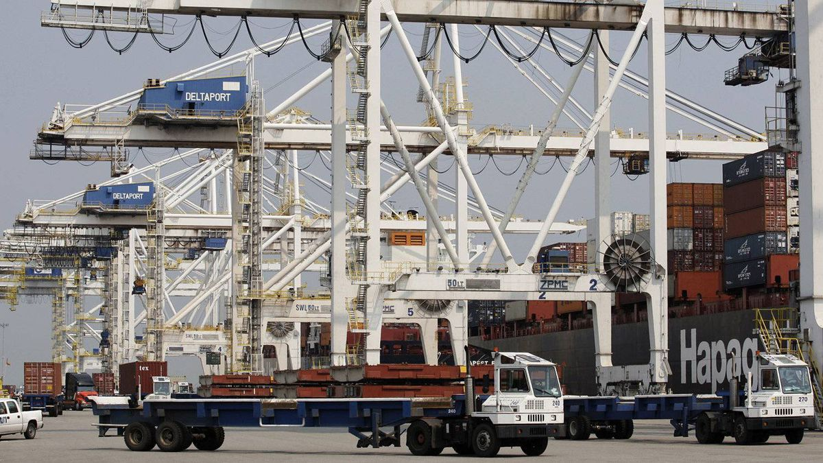 The container port at Delta, B.C. Exports to Britain and China grew 400 per cent from 2002 to 2011 to record levels. The two countries have also overtaken Japan to become the No. 2 and No. 3 destinations.
