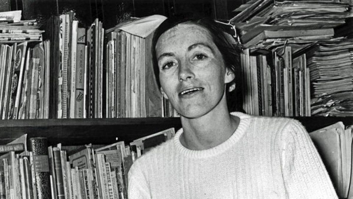 A 1970 file photo of poet Pat Lowther.