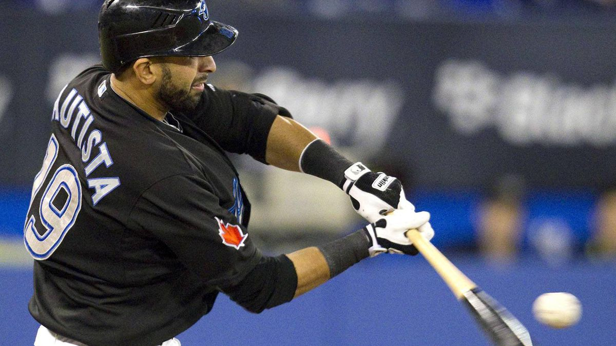 The Toronto Blue Jays and Jose Bautista have extended the deadline for their contract negotiations until Friday. REUTERS/Fred Thornhill