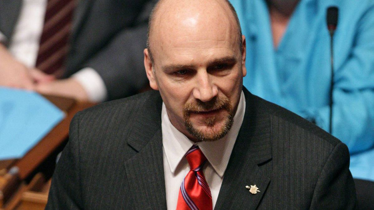 Blair Lekstrom is seen in this January 17, 2009 file photo in Victoria.