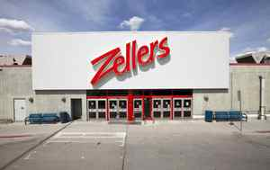 The Zellers at Chinook mall in Calgary, Alberta.
