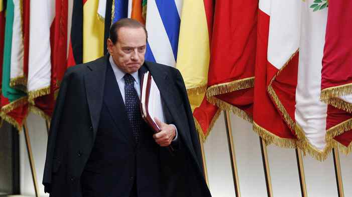Italian Prime Minister Silvio Berlusconi announced Monday that 'the rumours of my resignation are groundless.'