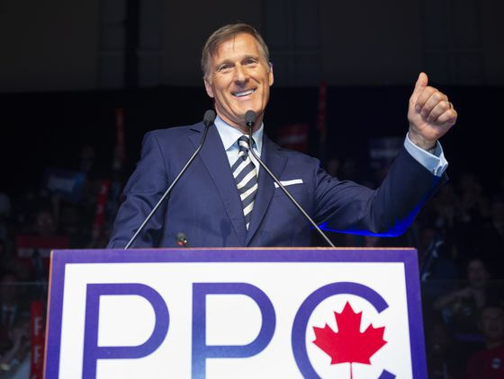 Ad firm says controversial billboards promoting Bernier's party are staying up