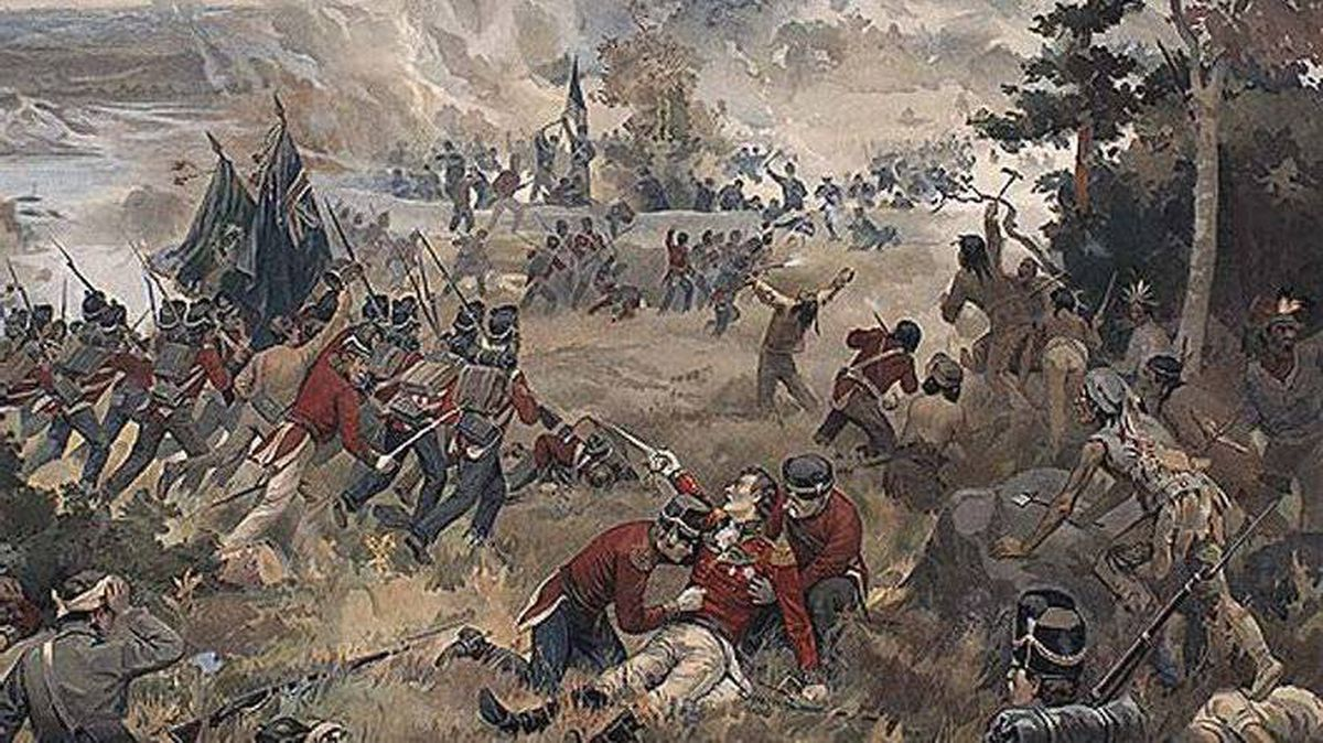 Detail form 'Battle of Queenston Heights, 13 October 1812' by John David Kelly