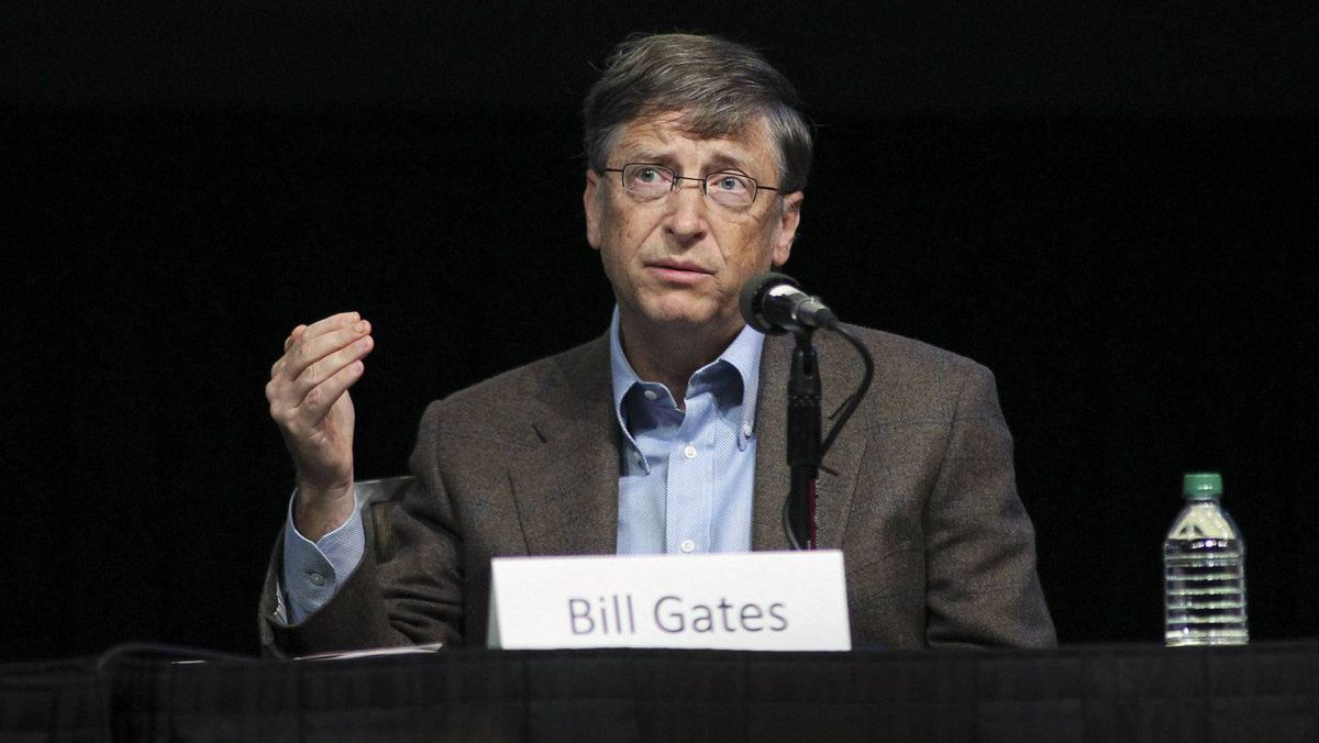 Microsoft chairman Bill Gates took the top U.S. spot on the Forbes list, with net worth of $61-billion (U.S.). Mr. Gates, whose philanthropic efforts through the Bill and Melinda Gates Foundation include developing a malaria vaccine, has given away much of his fortune, $28-billion at last count.