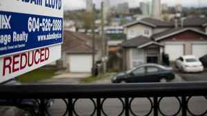 A duplex in the Vancouver suburb of Burnaby on the market earlier this month. The average cost of a Vancouver home is still more than $761,000, higher than anywhere else in the country. However, it was 3.1-per-cent lower in March than in the same month last year.