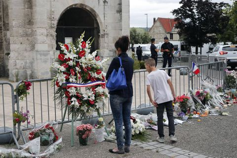 Chilling new details of France church attack emerge as hostage speaks