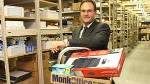 Monk Office Supply president James McKenzie.