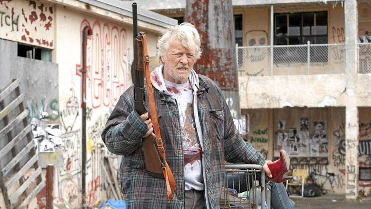 A scene from Hobo With A Shotgun, one of the Canadian movies at the Sundance Film Festival