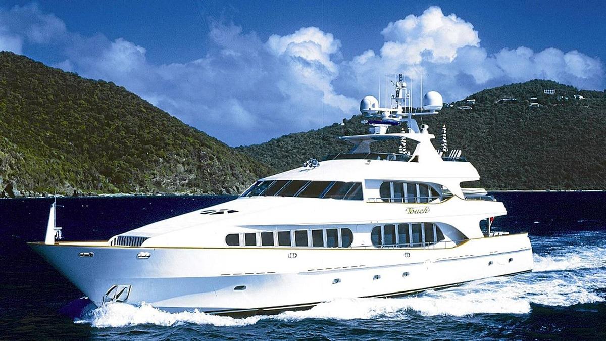 Antonio Accurso's luxury yacht, the Touch.