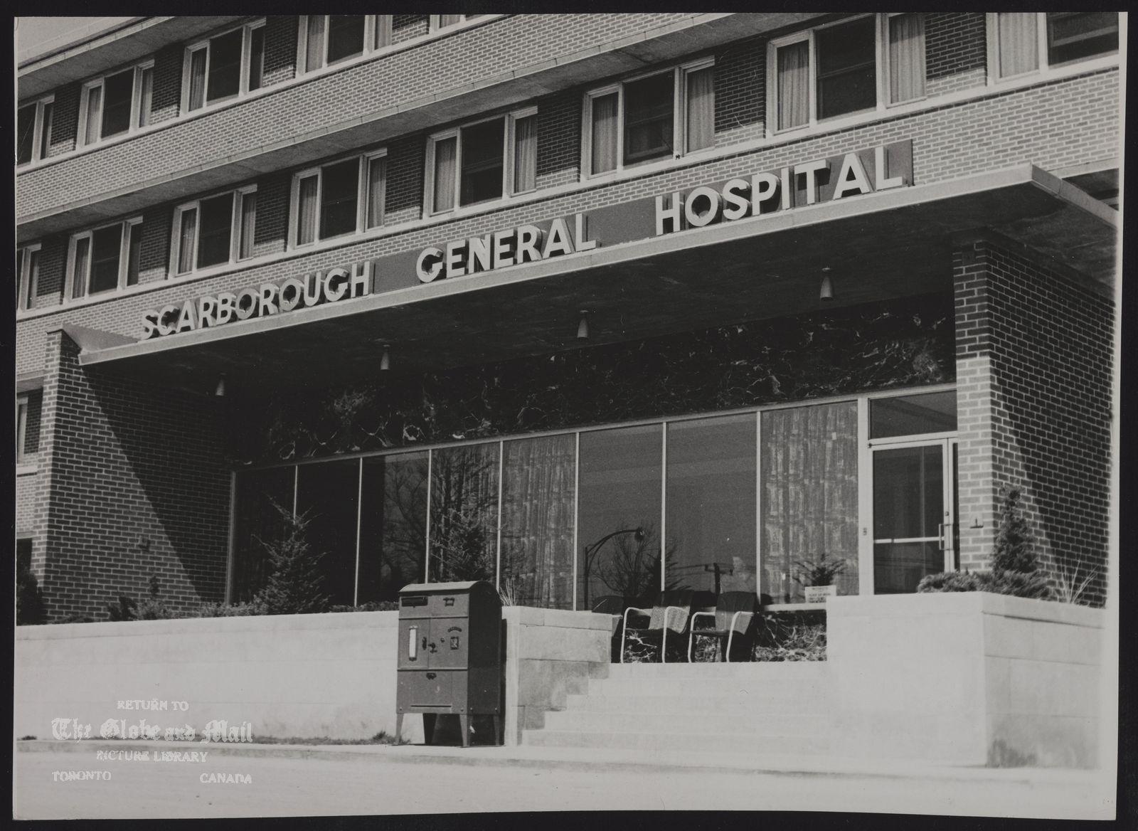 HOSPITALS Scarboro General Hospital.