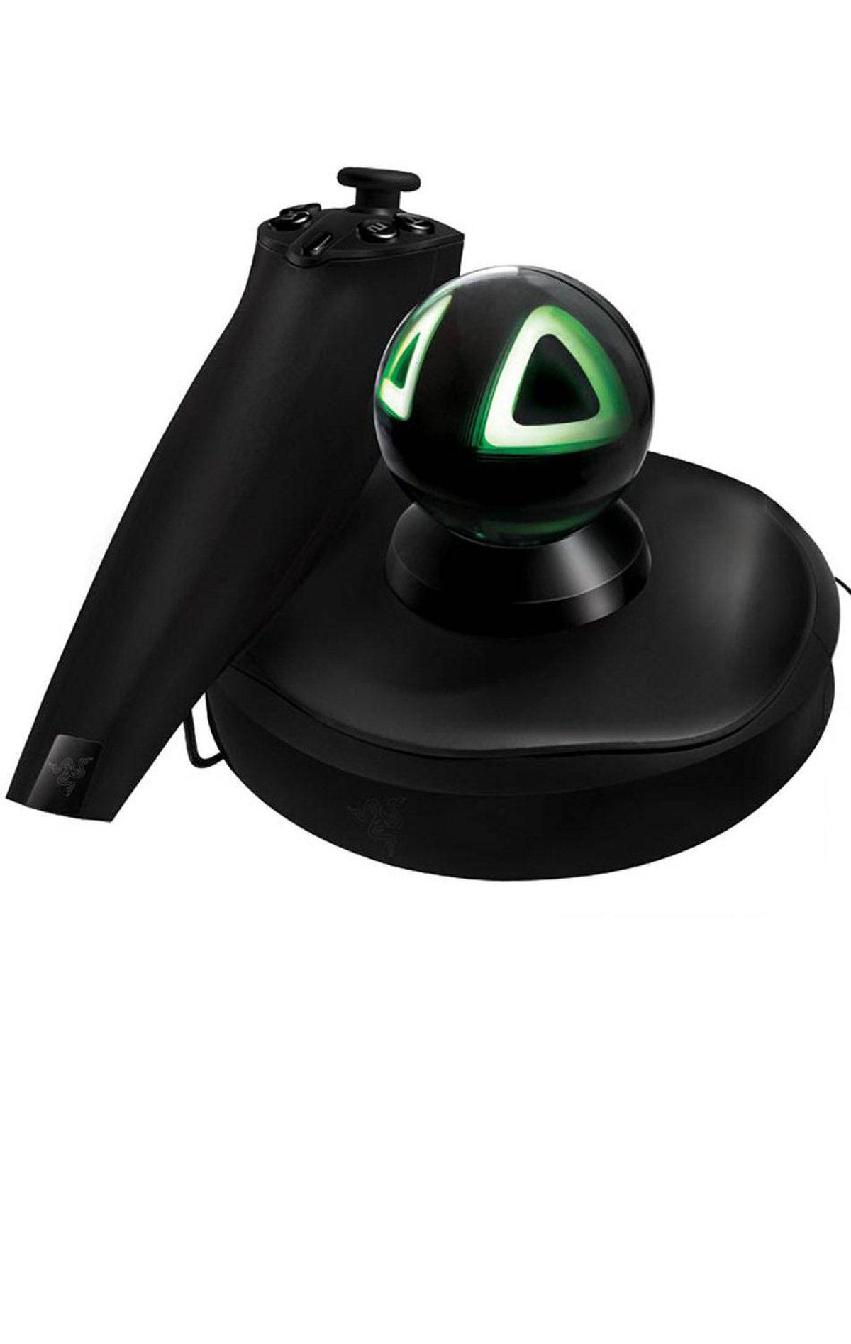 Razer Hydra PC Gaming Motion Sensing Controller Made for PC gamers who feel left out of the motion control wave, the Hydra uses magnets to detect movement by the millimetre for maximum accuracy. It's compatible with 125 games out of the box and comes bundled with a copy of Portal 2 that includes six bonus levels specifically designed for motion control. ($139.99; www.razerzone.com)