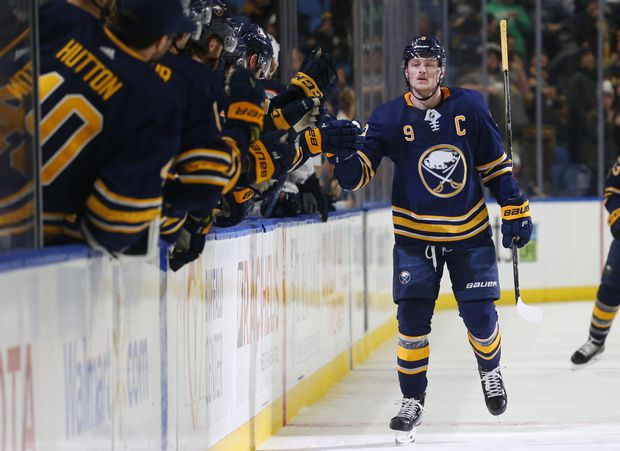 Sabres' Jack Eichel suspended 2 games for hit to head