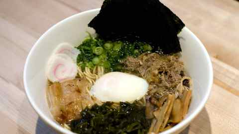Momofuku Noodle Bar: Momofuku ramen.