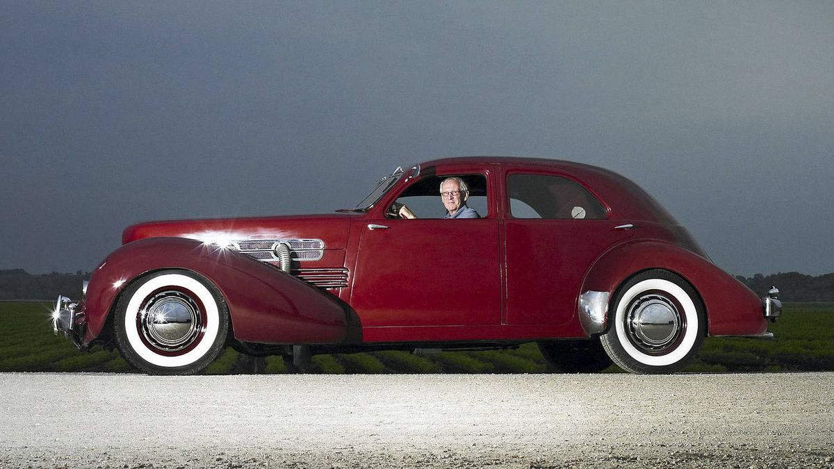 1937 Cord Westchester owned by Bill McLaughlin. Credit: Nigel Dickson