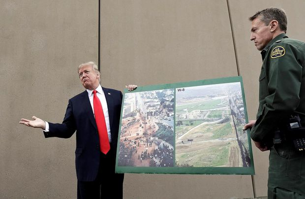 U.S. judge blocks Trump from building sections of border wall