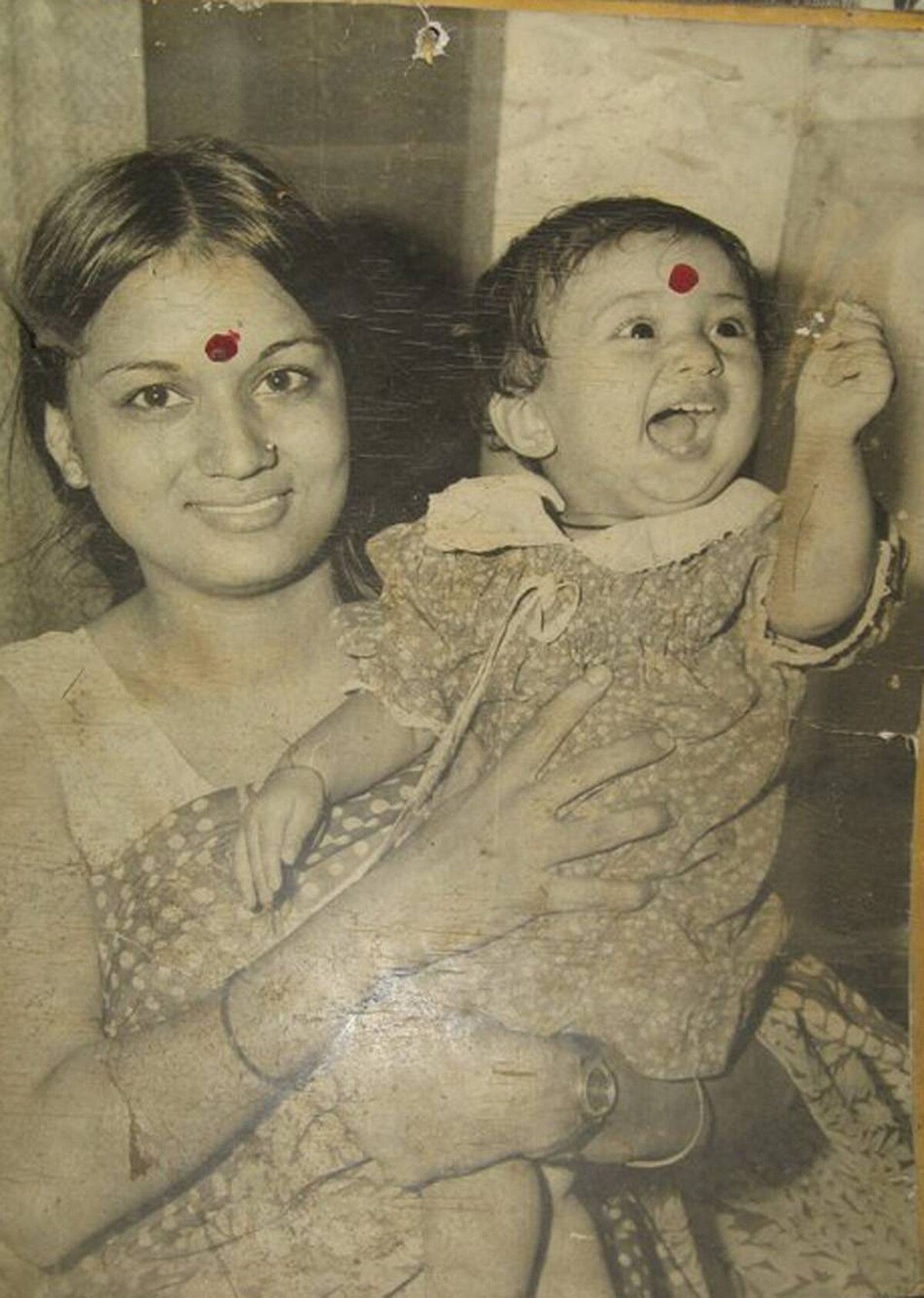 This photo was taken in 1981 in Delhi, India. We never celebrated mother's day in India. I think it is really nice to celebrate your mother every year. I plan to do something special for her this year.