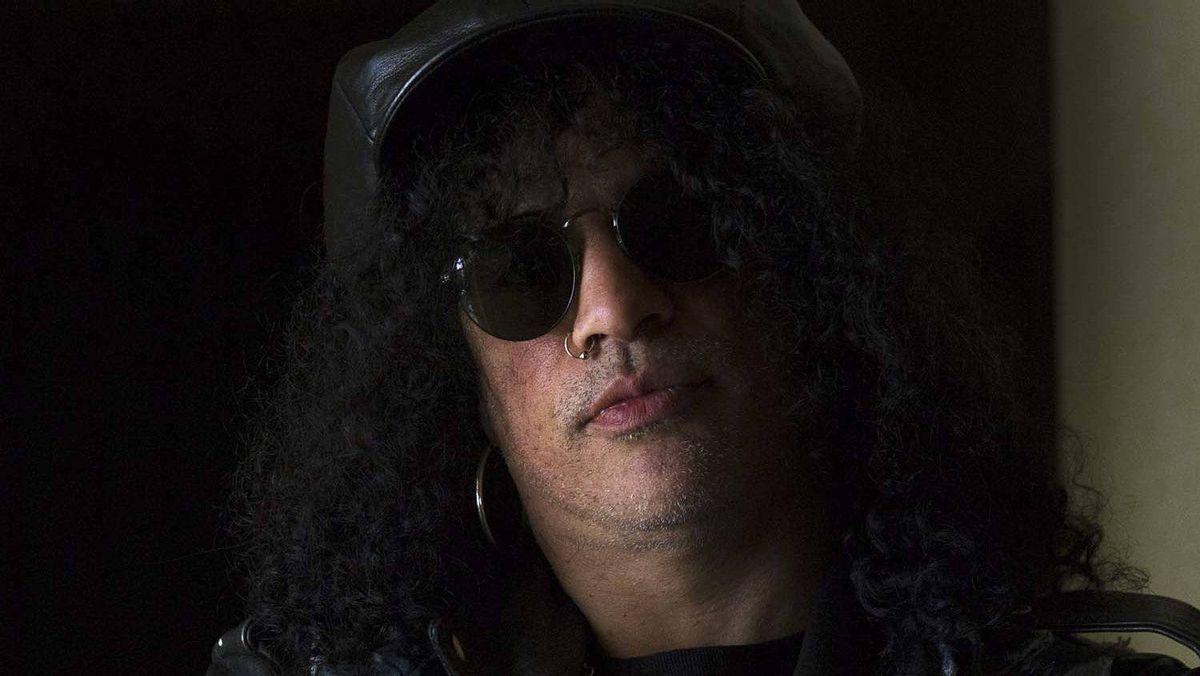Guitarist Slash in Toronto on March 21, 2012.