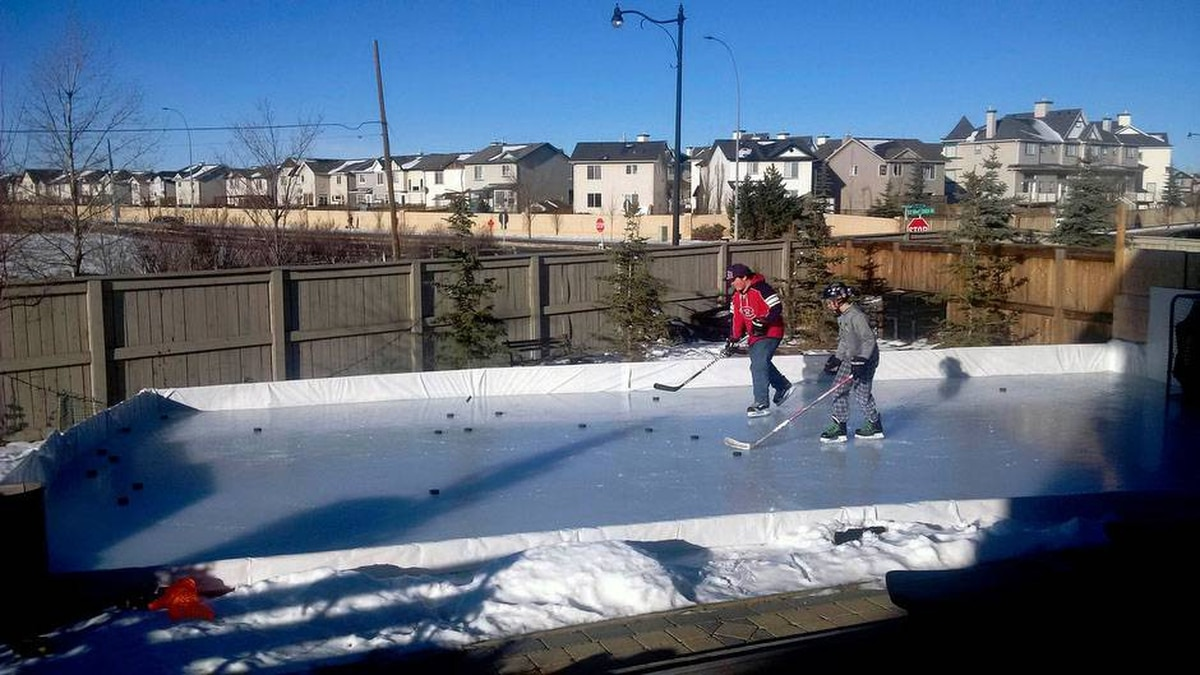 your wonderful images of backyard ice rinks the globe and mail