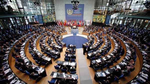 Representatives from a variety of countries meet in Bonn Monday to discuss the future of Afghanistan at the 10th International Afghanistan conference