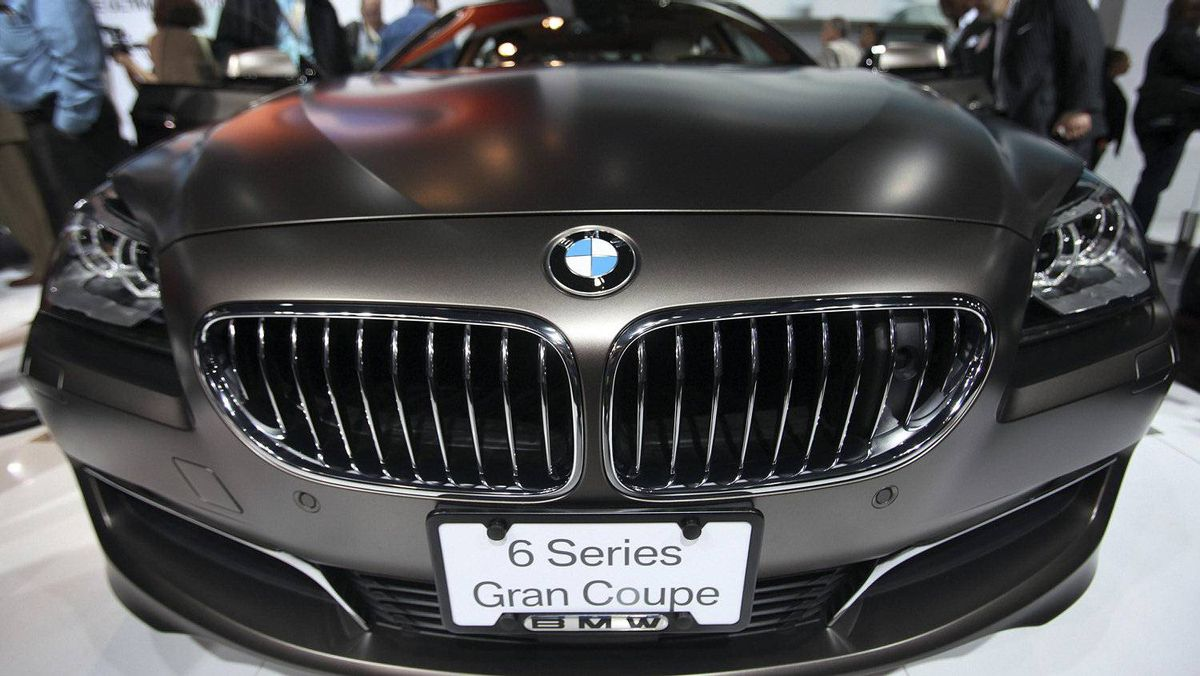 The 2013 BMW 6 Series Gran Coupe.