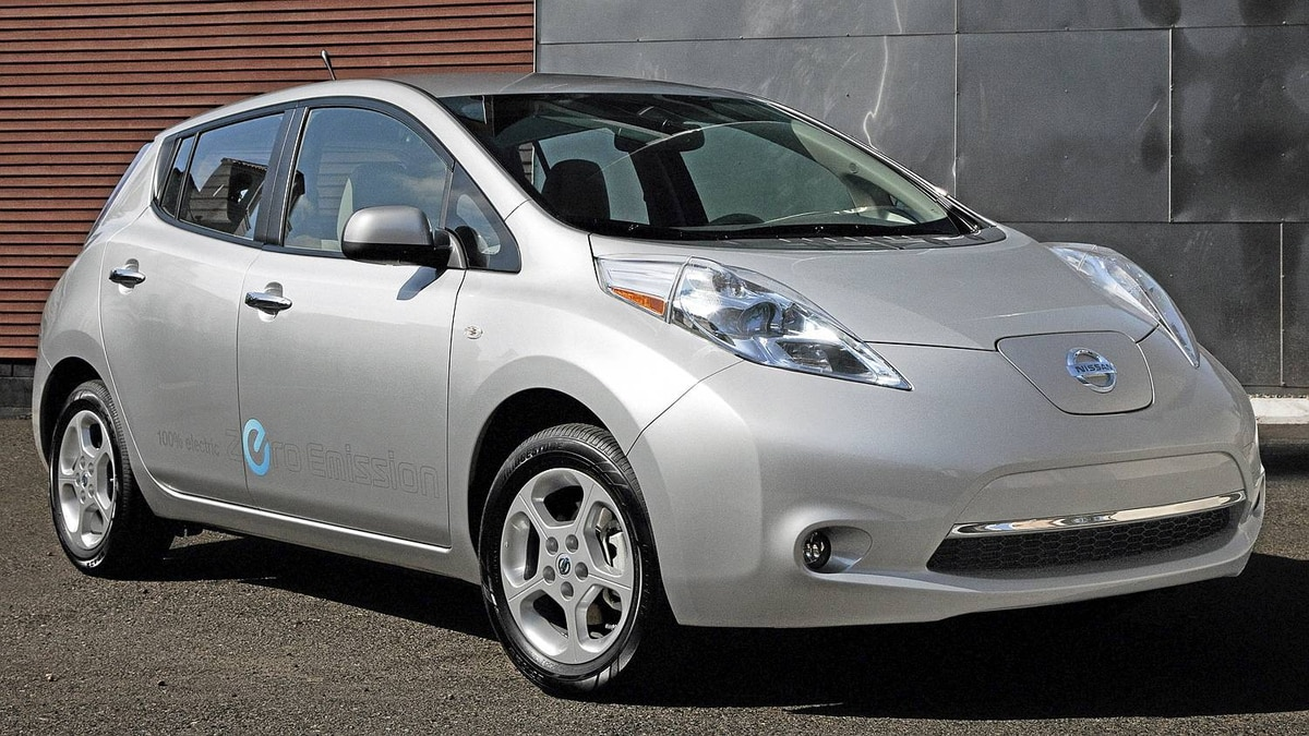 2011 Nissan Leaf. Credit: Nissan
