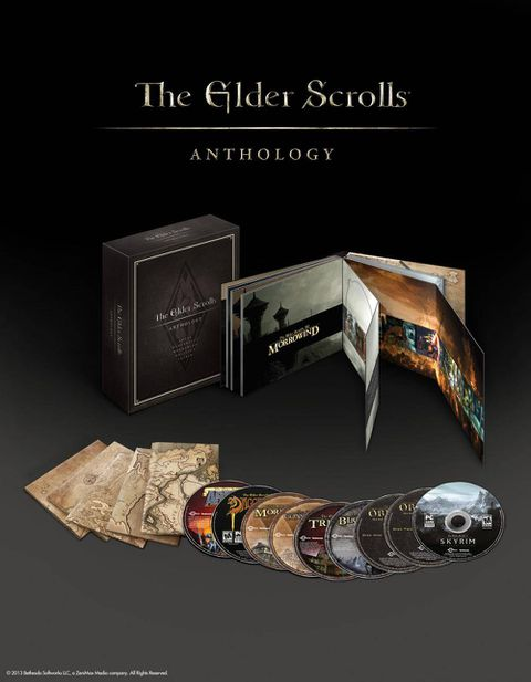 A gift for the game collector: The Elder Scrolls Anthology