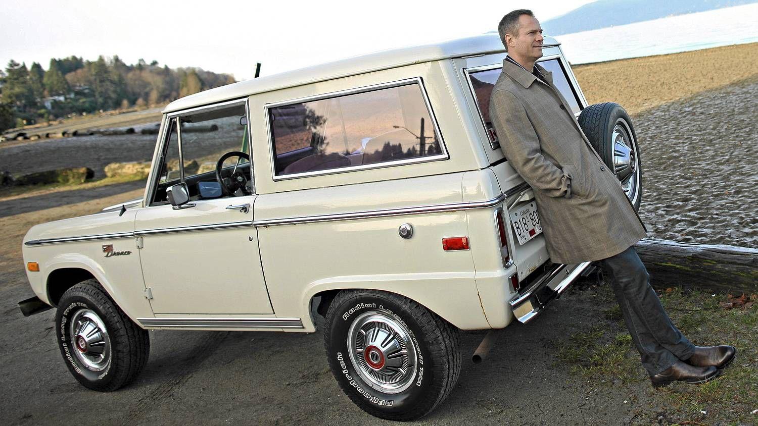 An Old Ford Bronco Is Newsman S Anchor The Globe And Mail