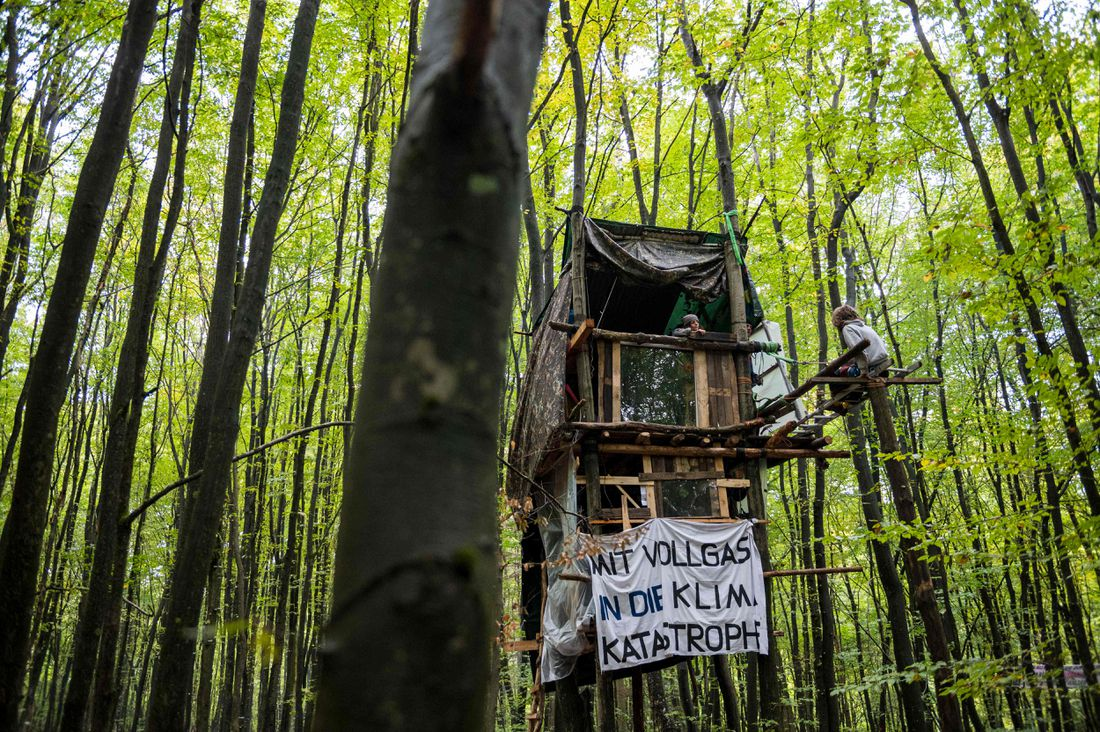 GERMANY-ENVIRONMENT-CLIMATE-FORESTS-PROTEST