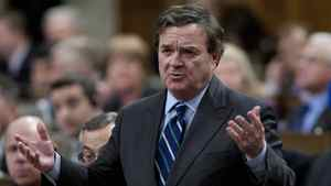 Minister of Finance Jim Flaherty responds to a question during Question Period in the House of Commons in Ottawa, Monday March 26, 2012.