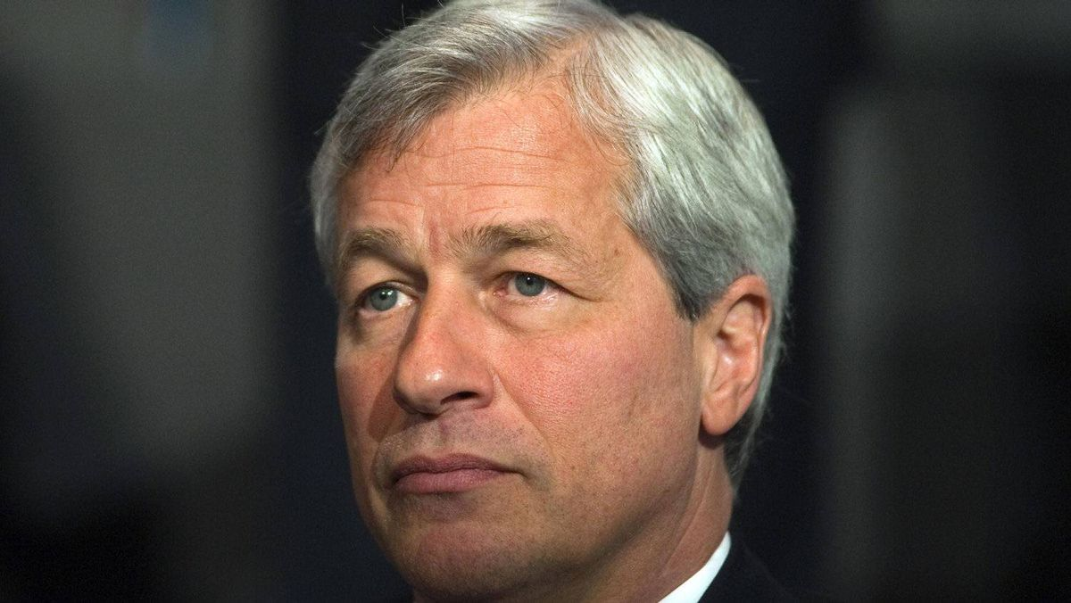 Jamie Dimon, chairman and chief executive of JP Morgan Chase and Co, speaks at the 2012 Simon Graduate School of Business' New York City Conference in New York, in this May 3, 2012 file photo.