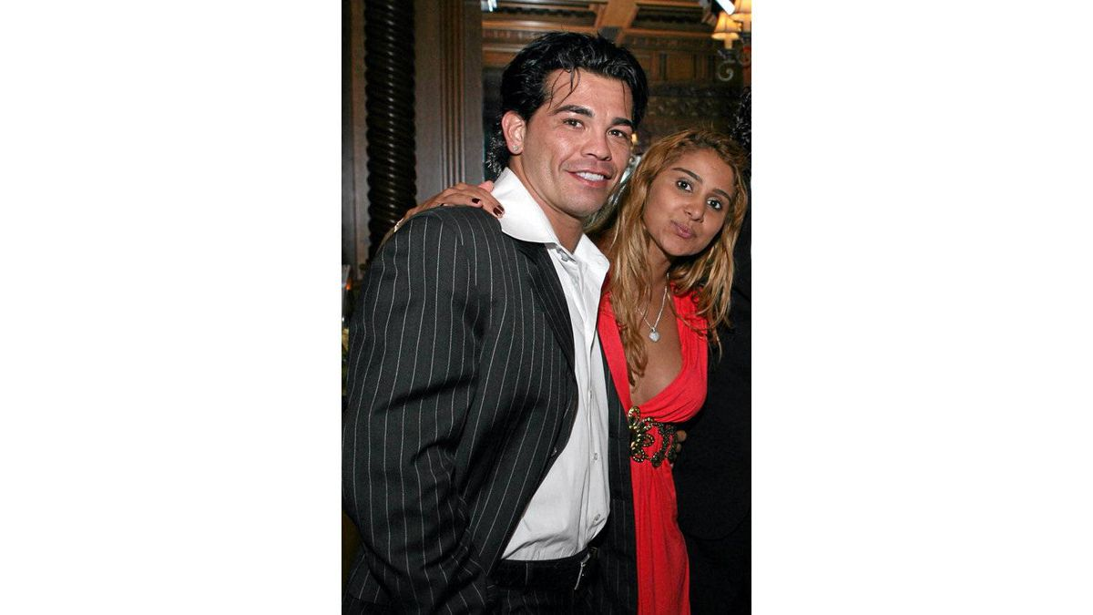 Gatti and Rodrigues at a party in New Jersey in September, 2007. Gatti was 37 when he died two years later.