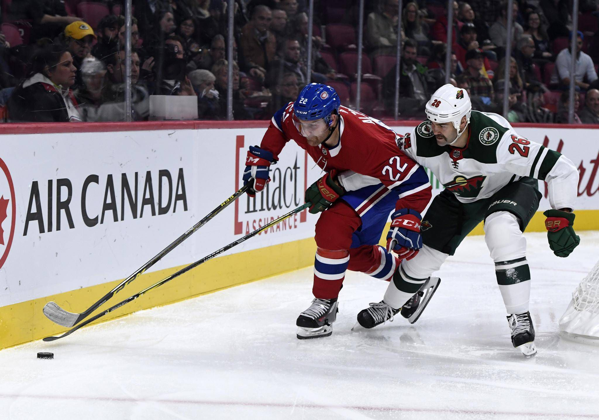 Jason Zucker Records A Hat Trick As Wild Shut Out Canadiens The