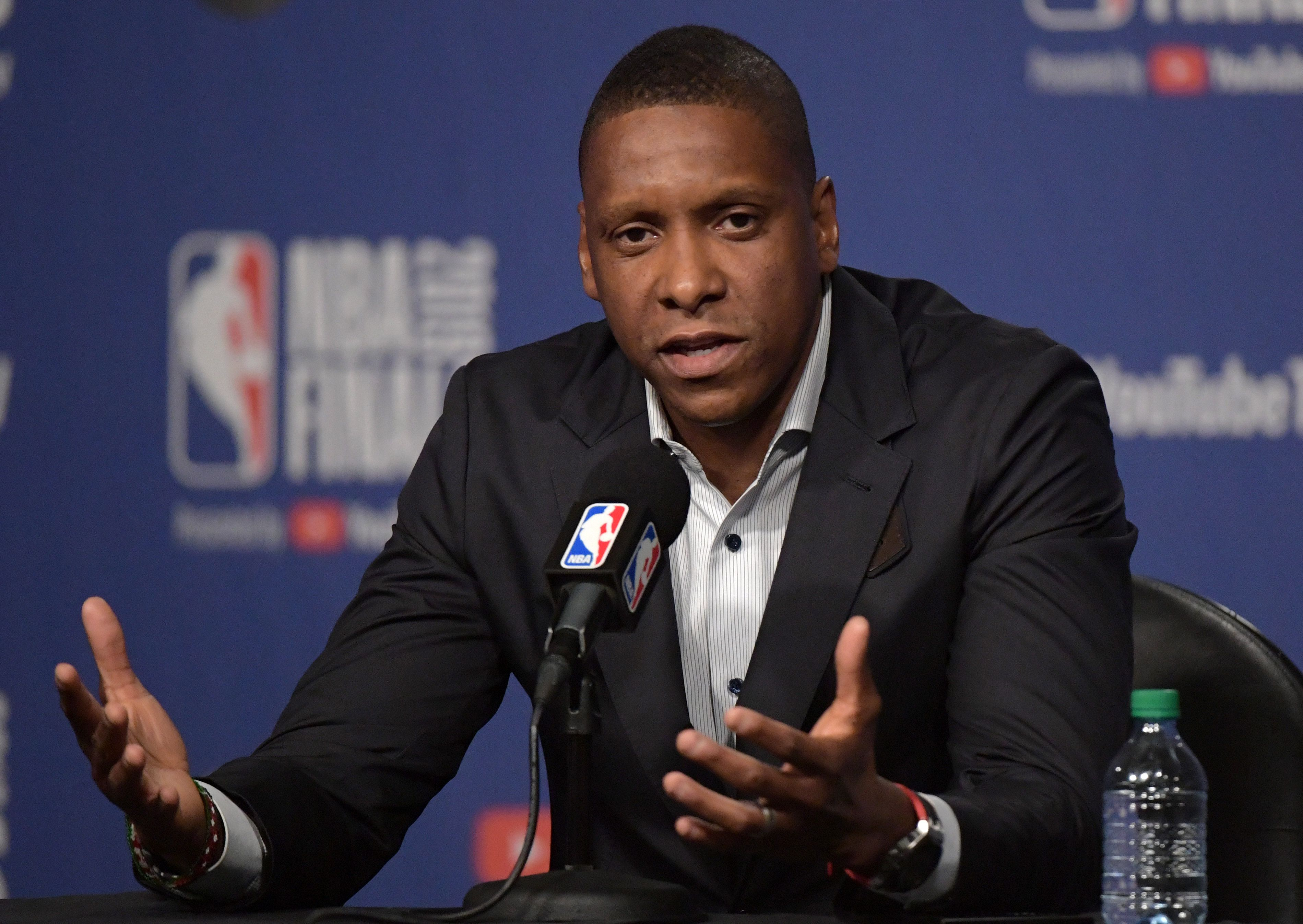 Oakland police pass Ujiri case to District Attorney's office, which will decide if charge will be laid