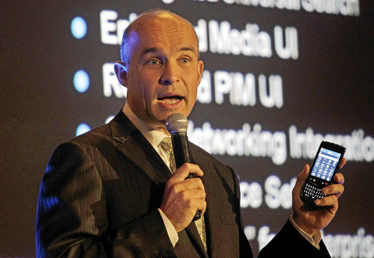 Jim Balsillie, Co-CEO Research In Motion