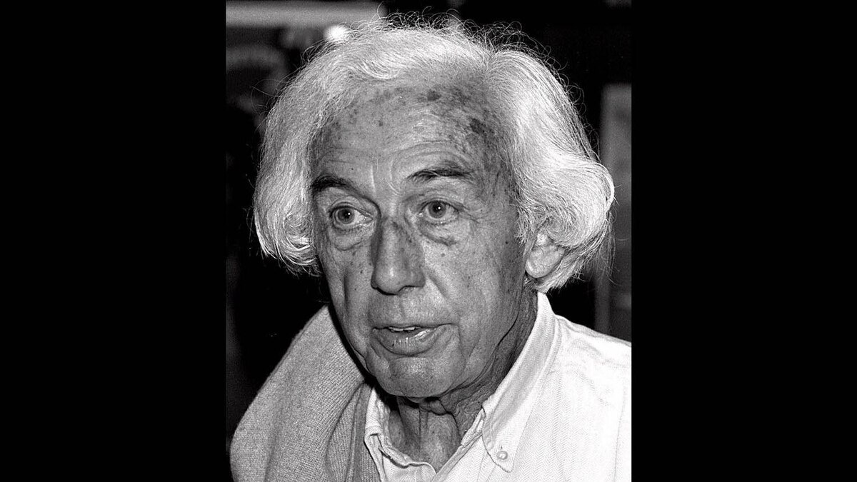 """FILE--French movie director Robert Bresson is photographed on May 16, 1983 at the Cannes film festival where he was presenting his last movie """"L'Argent"""" (Money)."""